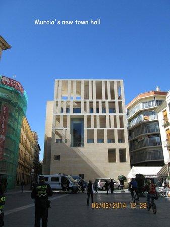 Plaza Cardenal Belluga: The new town hall, Murcia