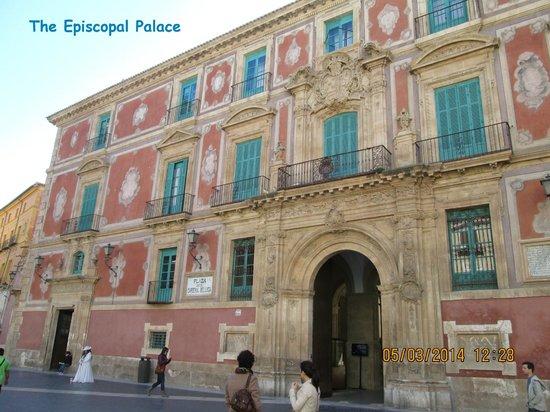 Plaza Cardenal Belluga: The Episcopal Palace, Murcia