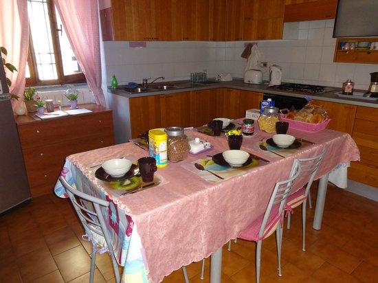 Fragolino Hostel: Kuchnia