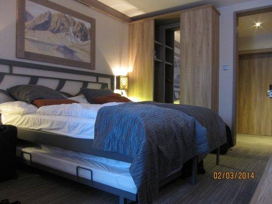 Hotel Grand: Przyjemne wnętrze pokoju