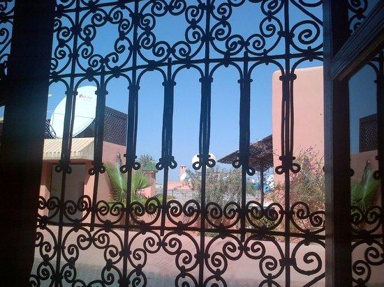 Riad Itrane : 3rd floor room view