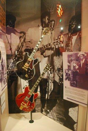 Memphis Rock 'n' Soul Museum : strumenti