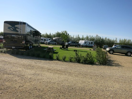 Gull Lake, Canadá: Large spacious RV Lots