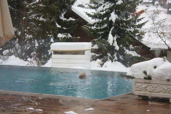 Hotel Ronacher: piscina esterna