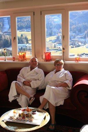 Das Ronacher - Therme & Spa Resort: suite imperiale