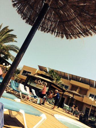 Hotel Arena : Bar de la piscine