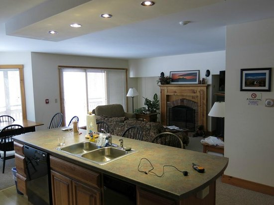 Jay Peak Resort: Village Townhouse - Living Area