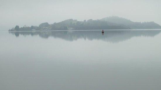 Auchenheglish Lodges : even on a misty day its lovely
