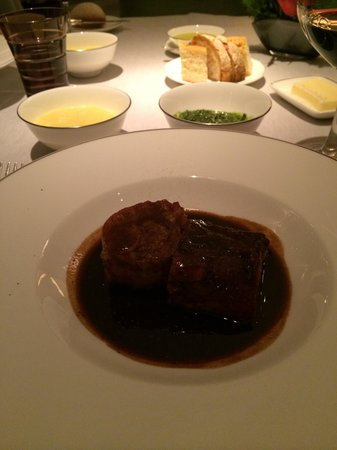 Restaurant Pavillon: Fabulous veal knuckle