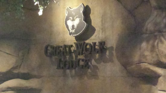 Great Wolf Lodge Grapevine: The Entrance