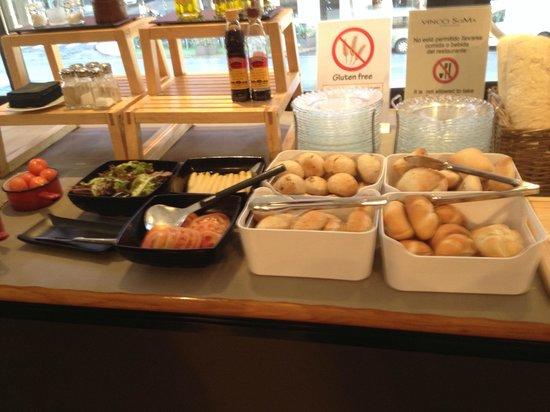 Vincci Soma : Buffet petit-dejeuner
