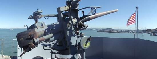 SS Jeremiah O'Brien: Forward gun turret
