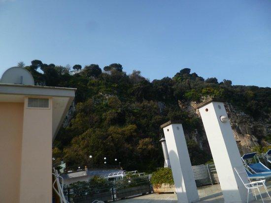 Hotel Villa Maria: view from the sun terrace