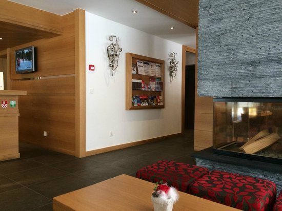 Hotel Aristella swissflair : Lobby of the hotel