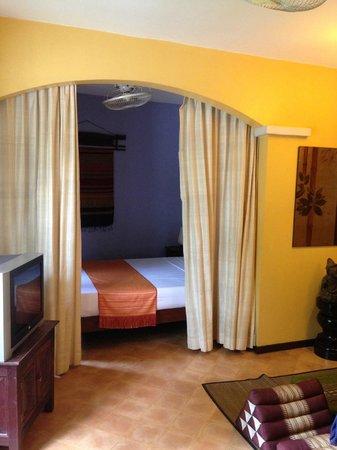 La Palmeraie d'Angkor : chambre
