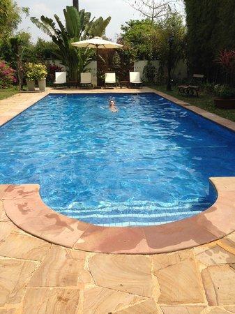 La Palmeraie d'Angkor : piscine