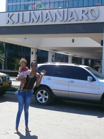 Hyatt Regency Dar es Salaam, The Kilimanjaro: front of the hotel