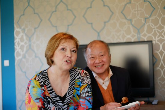 Magaggiari Hotel Resort: Trung et Francine