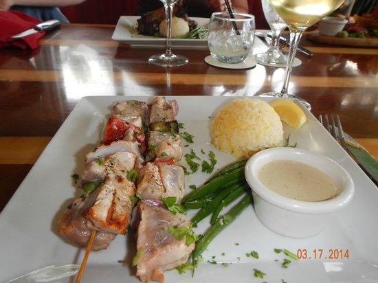 The Mediterranean Gourmet: Ahi Kabobs