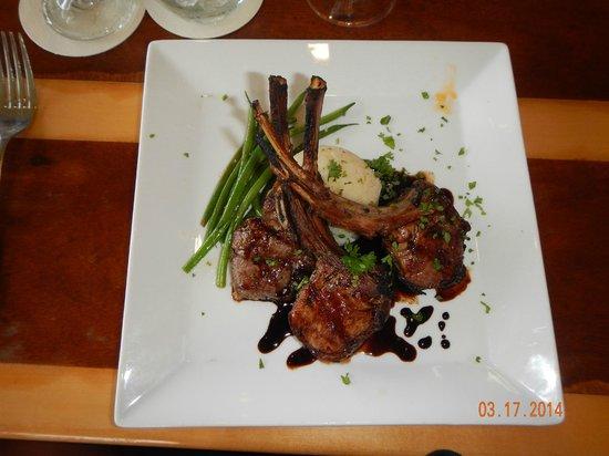 The Mediterranean Gourmet: Half Rack of Lamb