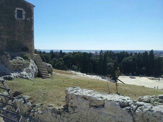 Parco Archeologico della Neapolis : panorama
