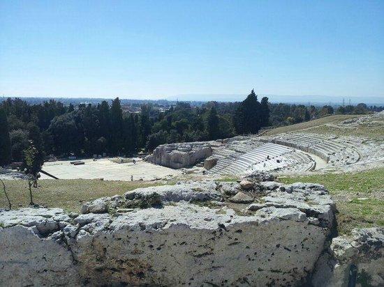 Parco Archeologico della Neapolis : teatro freco