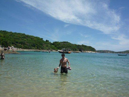 Azeda Beach : La playa (desde azedinha)