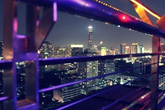 Siam@Siam Design Hotel Bangkok: View from rooftop bar