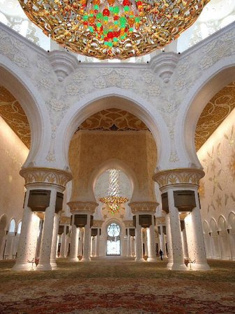 Mezquita Sheikh Zayed: The great Grand Mosque!