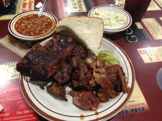 Photo of American Restaurant Old Hickory Pit Bar-B-Q at 338 Washington Ave, Owensboro, KY 42301, United States