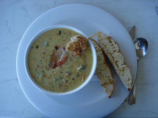Platter : Seafood Chowder