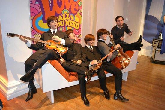 Madame Tussauds London - Beatles