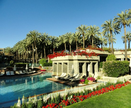 Hyatt Regency Scottsdale Resort and Spa at Gainey Ranch: One of the pool areas...