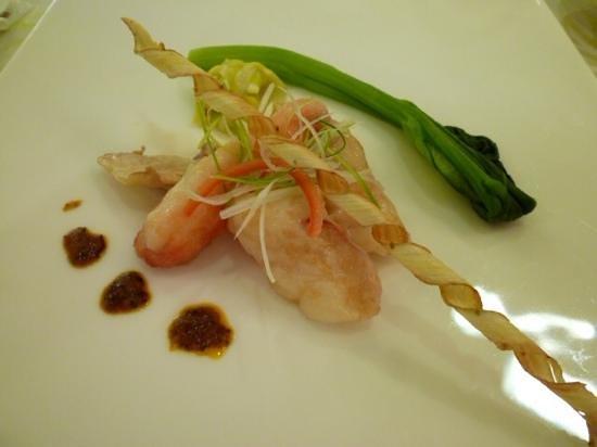 Shin-Yokohama Kokusai Hotel : たらば蟹とハクレイ茸