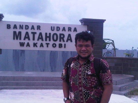 Tomia Scuba Dive: Bandar Udara Matohara wakatobi, berada di pulau wangi-wangi
