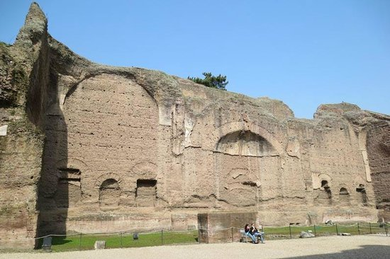 Thermes de Caracalla : huge site to see