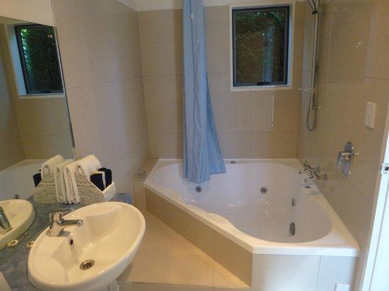Hanmer Springs Scenic Views Motel: Spa Bath