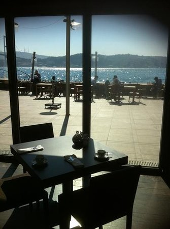 Radisson Blu Bosphorus Hotel, Istanbul: flawless- view from restaurant terrace