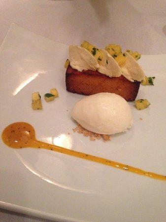 La Rémanence : Piña Colada en dessert