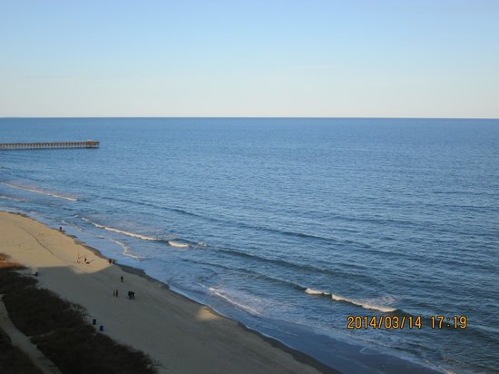 Sea Crest Oceanfront Resort : our view