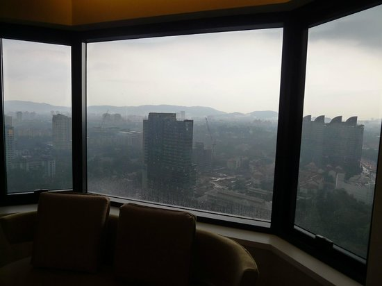 DoubleTree by Hilton Kuala Lumpur: View from King Deluxe Suite