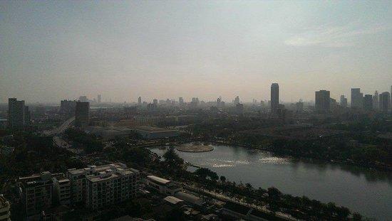 Somerset Lake Point Bangkok: view from balcony
