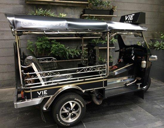 VIE Hotel Bangkok, MGallery by Sofitel : Vie Tuk TUk GE 2014