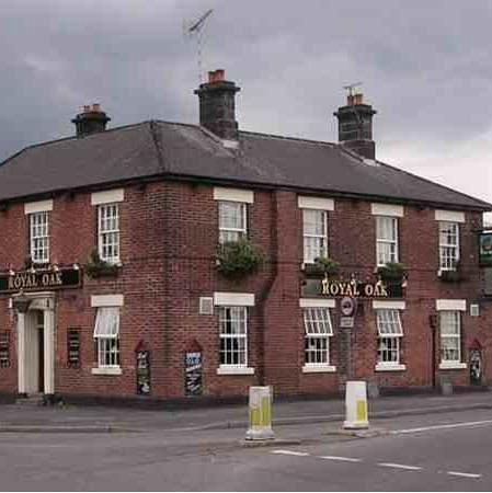 Royal Oak Tupton: the royal oak old tupton