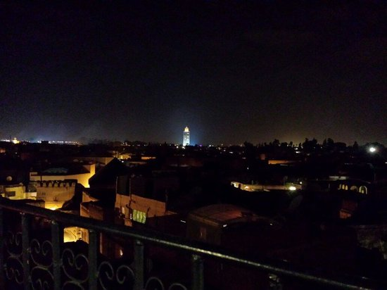La Terrasse Ben Youssef: Vista dalla terrazza