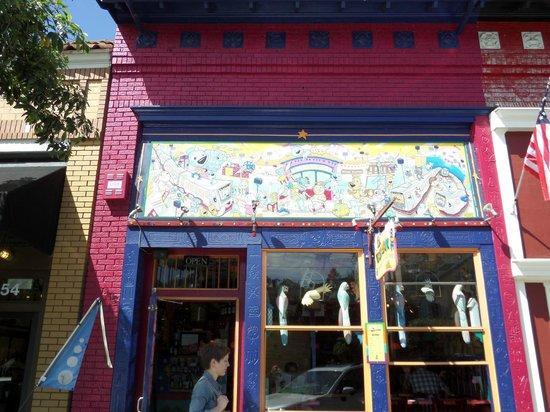 El Toreador Fonda Restaurant: The front facade of El Toreador