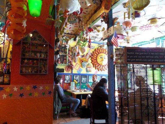 El Toreador Fonda Restaurant: El Toreador interior