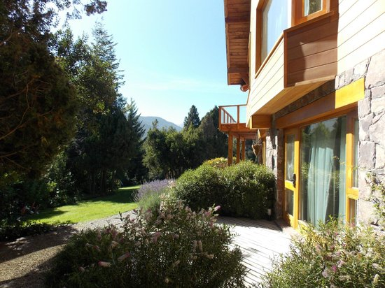 Antuquelen Hosteria Patagonica: jardin