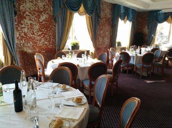 Sina Bernini Bristol: La sala colazioni