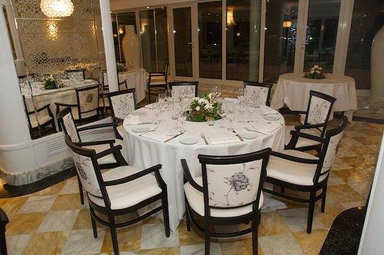 Sina Bernini Bristol: L'Olimpo, ristorante con vista